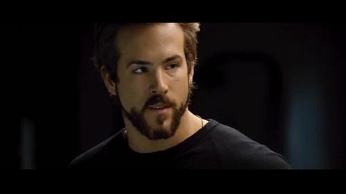 Ryan Reynolds Shirtless in Blade Trinity