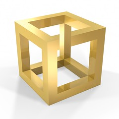 Optical illusions as negotiation and conflict resolution training tools