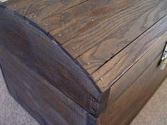 Treasure chest closeup