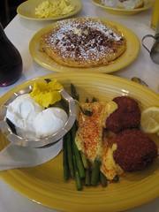 breakfast at Tupelo Honey Cafe