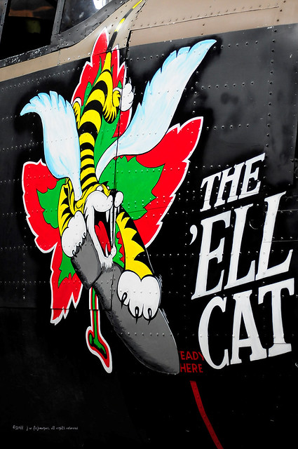 Bomber Insignia - The 'Ell Cat