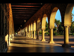 Halls of Learning - Stanford Quad