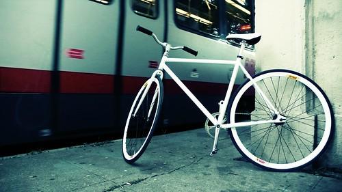 still life with muni and bike