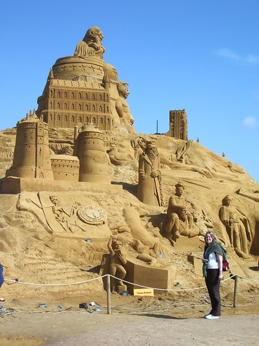 You could LIVE in this sandcastle.