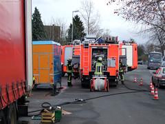 Vermeintlicher LKW-Brand in Kastel - 09.12.07
