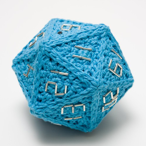 20 sided die!  Awesomesauce!