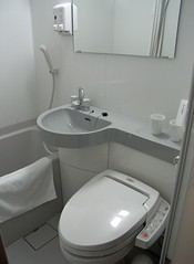 Super Hotel modular bath