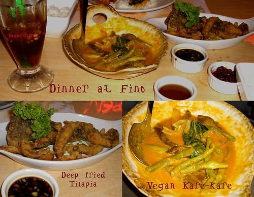 Dinner @ Fino