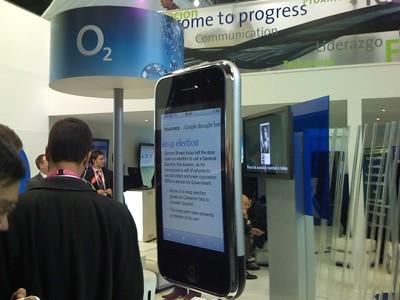 El iPhone Gigante de O2-Telefónica