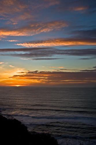 Winter Solstice Coos Bay, Oregon Coast, December 21, 2007