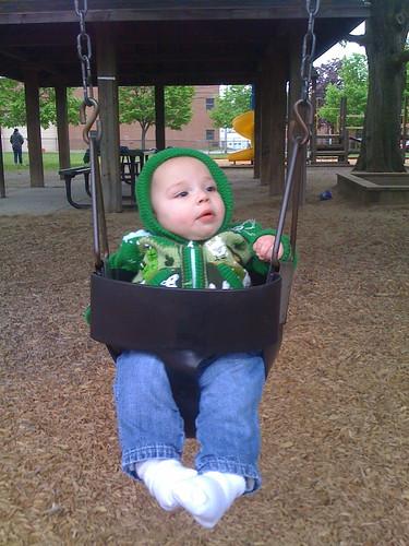 Daniel in swing
