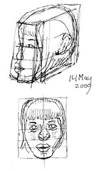 Drawing Unknown Faces, part 144 (g)