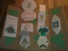 St Patricks Day Lapbook