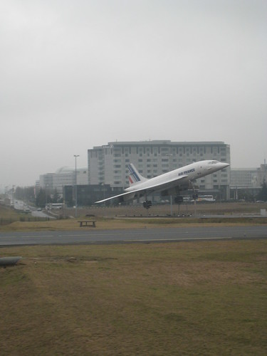 The concorde in CdG