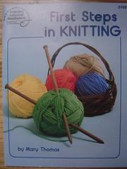DESTASH! ~First Steps in Knitting~