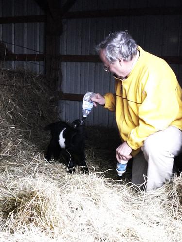 Robert Feeding Black Baby