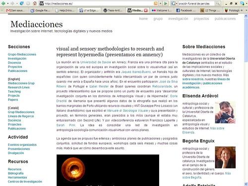 página mediacciones