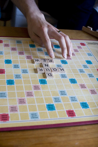 we're really bad at scrabble