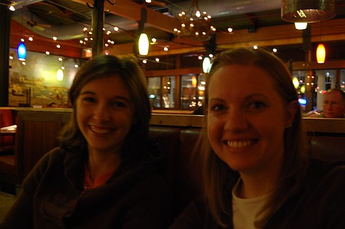 Lauren and Kristin