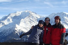 Skiing at Megève