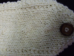 Ghost Cables Neckwarmer Detail