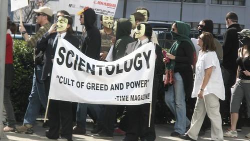 Resultado de imagen para imagenes cienciologia anonymous