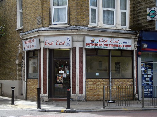 Cafe East, Deptford, London