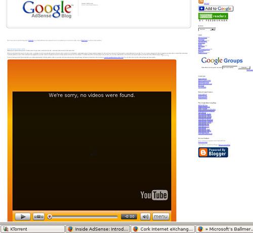 Adsense video ads