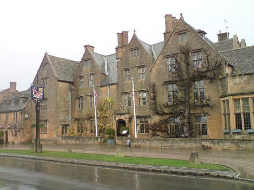 The Lygon Arms, where I spent my 2007 birthday (7th December)
