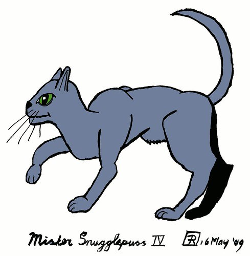 Mister Snugglepuss