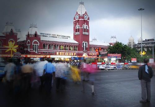 chennai central railways station
