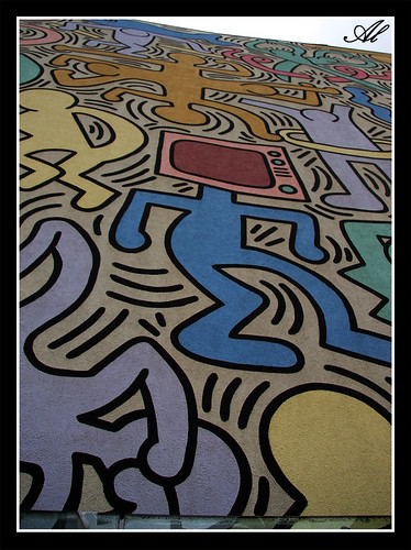Keith Haring, particolare