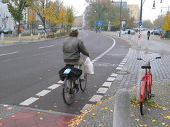 Bike Lane in Berlin, 5