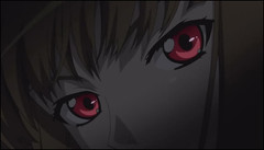 Spice and wolf 4- horo red eyes