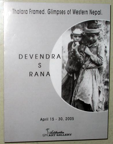 Thalara Framed. Glimpses of Western Nepal by Devendra S Rana