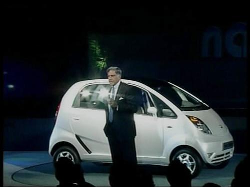 Tata Nano (Rs. 1 lakh car)
