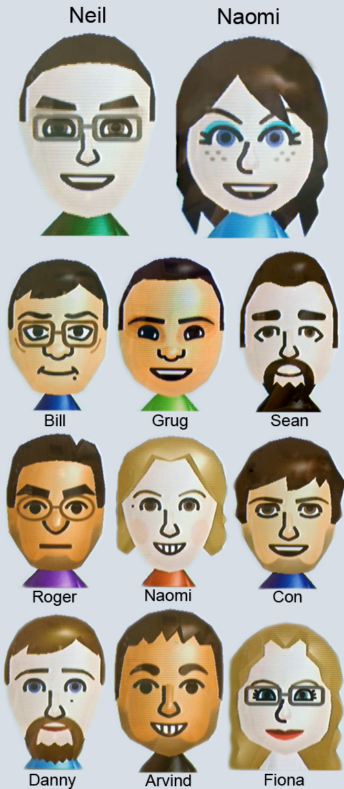 Our Mii Friends