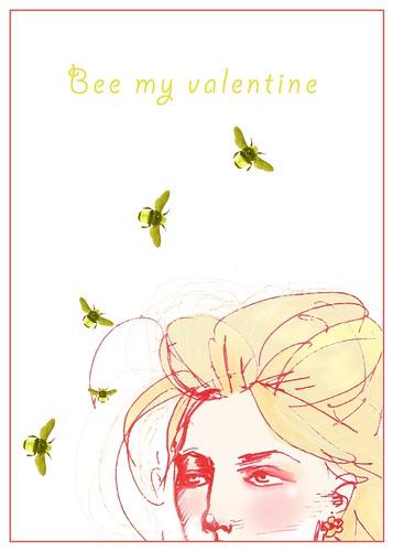 Bee my Valentine no bkgrnd by samlovesherdog.