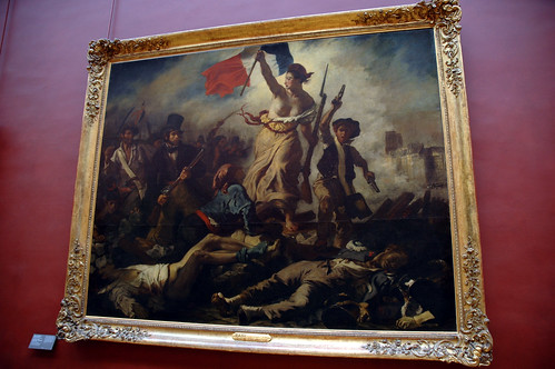 "foto ""La Liberté Guidant le Peuple"" by caribb - flickr"
