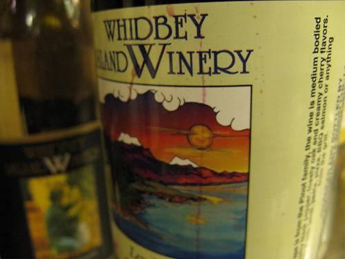 whidbey island wine