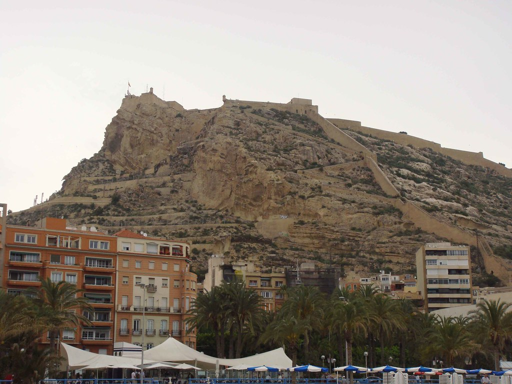 Alicante (Castillo de Santa Bárbara)