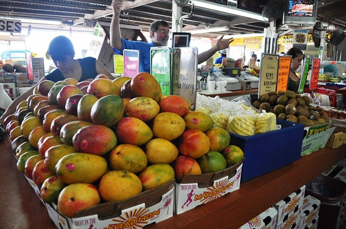 There He Is! Robert of Robert Is Here Fruit Stand, Florida City, Fla.