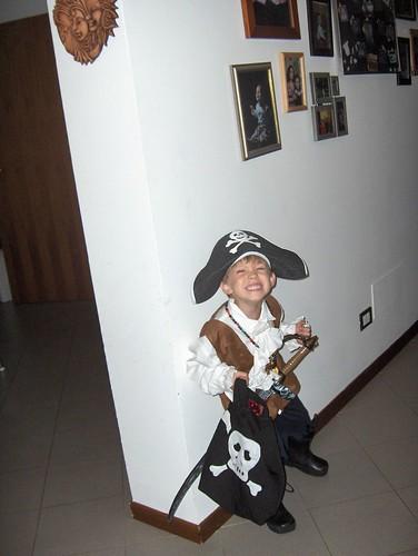 Cale's a pirate