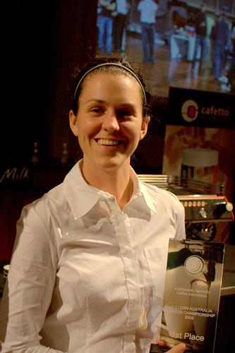 Jen Murray - W.A Barista Champion 2008