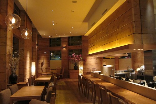 The main dining hall at brushstroke by bloompy