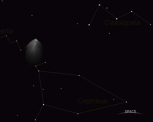 Comet Ed (simulation) on 12/10/07