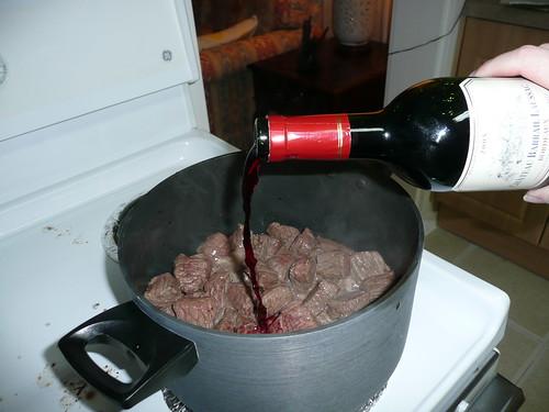 Making Drunk Stew