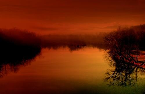 Red Skies in Morning