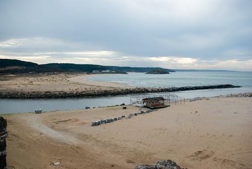 riva beach, blacksea, istanbul, pentax k10d