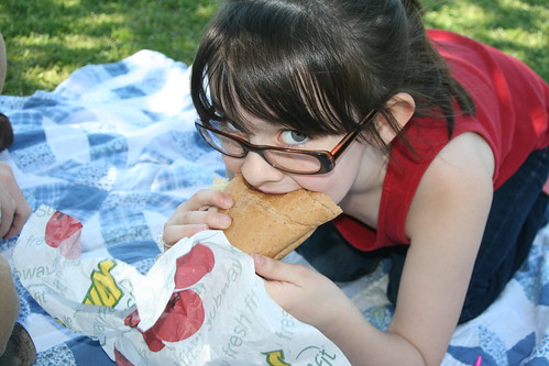 Kathryn loves sandwiches...